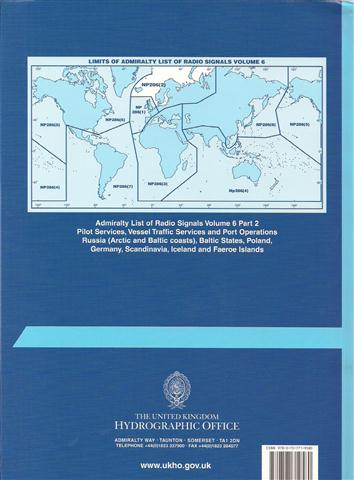 NP 286(2) ALRS Vol 6(2) PILOT SERVICES, VESSEL TRAFFIC SERVICES & PORT OPERATIONS Europe, Arctic and Baltic coasts, including Iceland and Faeroe Islands.jpg
