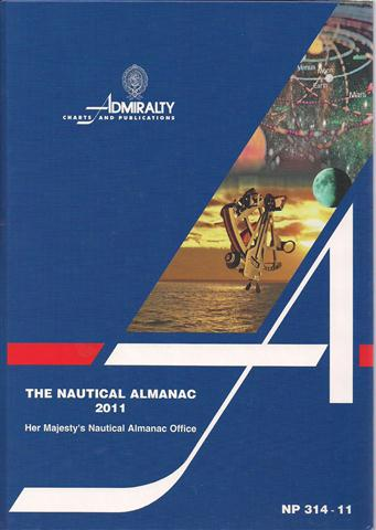 NP 314 - 11 THE NAUTICAL ALMANAC 2011.jpg
