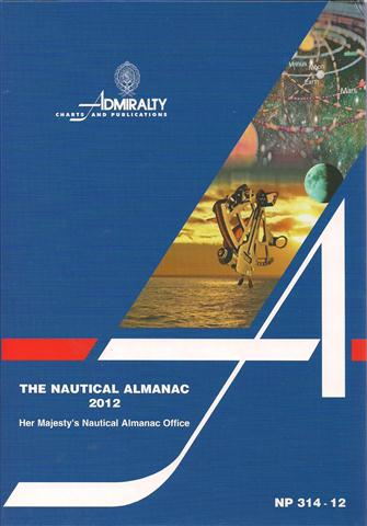 NP 314 - 12 THE NAUTICAL ALMANAC 2012.jpg