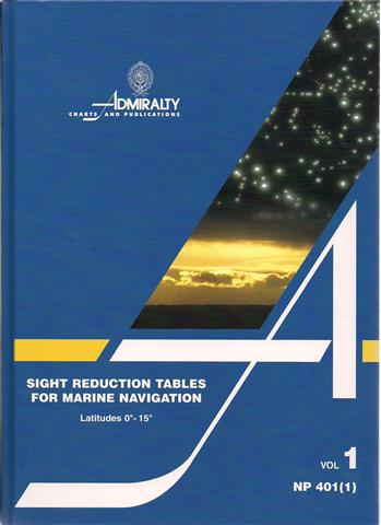 NP 401(1) SIGHT REDUCTION TABLES FOR MARINE NAVIGATION.jpg