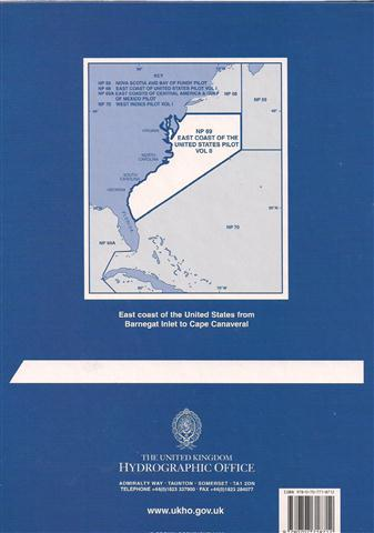 NP 69 ASD EAST COAST OF THE UNITED STATES PILOT VOLUME II.jpg